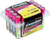 Camelion AAA - LR3 Alkaline 1,5V batterijen - 24 stuks
