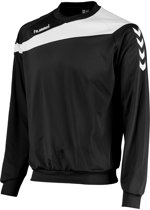 Hummel  Elite Top Sweater  Sporttrui performance - Maat 128  - Unisex - zwart/wit