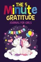 The 5 Minute Gratitude Journal For Girls