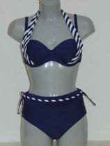 Lentiggini Stripe Marine Blauw - Bikini Maat: 75C