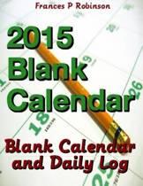 2015 Blank Calendar