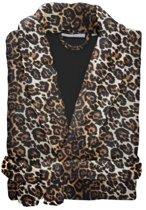 Essenza Leopard - Badjas - Fleece - Maat XS/S