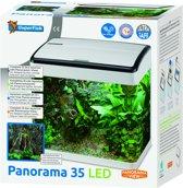 Superfish Panorama 35 LED Aquarium - 35 L - Wit - 38 x 26.5 x 39.5 cm