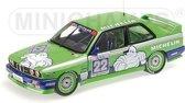 BMW M3 Team Alpina C. Danner double winner Hockenheim DTM 1988 1:18 Minichamps