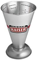 KAISER-Patisserie-maatbeker-trechtervorm-geïntegreerde-Skala