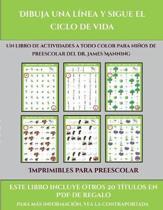 Imprimibles Para Preescolar (Dibuja Una Linea Y Sigue El Ciclo De Vida)
