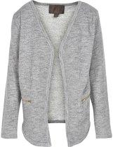 Creamie - mesjes vest - model Heba - light grey melange - Maat 140