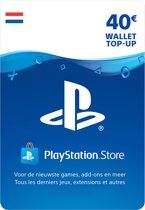 40 euro PlayStation Store tegoed - PSN Playstation Network Kaart (NL)