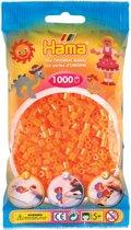 Strijkkralen 1000 Stuks Oranje Neon
