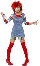 """""""Chucky™ outfit voor vrouwen  - Verkleedkleding - Medium"""""""