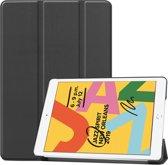 Smart Tri-Fold Case voor Apple iPad 10.2 2019 - zwart