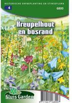 Sluis Garden Aan Zonnig Kreupelhout En Bosrand
