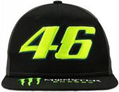 VR46 Cap Rossi (MOMCA316603) Monster Dual Black