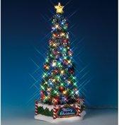 Lemax Kerstdorp New Majestic Christmas Tree - 34 cm - Met verlichting