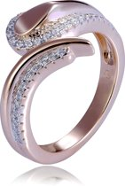 Orphelia ZR-7441/50 - Ring - Zilver 925 Rosé - Zirkonia - Maat 50