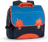 Kipling Iniko - Schooltas - Blue Orange Bl
