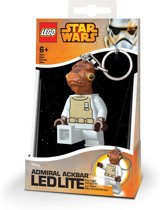 Lego: Star Wars - Admiral Ackbar Key Light (met batterijen)