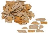 Faller - Natuursteen, Steenbrokken, oker, 350 g