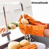 InnovaGoods Handschoenen voor Wassen en Schillen van Groenten en Fruit