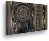 Mandala Canvas Print 60cm x 40cm