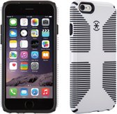 Speck CandyShell Grip - Hoesje voor  iPhone 6 / 6s - White / Black Core