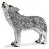 Wolf, Huilend