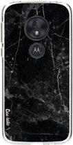 Casetastic Softcover Motorola Moto G7 Play - Black Marble
