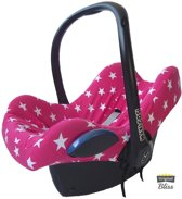 Bliss - Maxi Cosi Hoes voor Cabriofix Pebble Citi - Ster Donkerroze