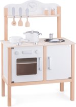 New Classic Toys - Speelkeuken - Wit - Inclusief Accessoires - Aanrechthoogte is 44 centimeter