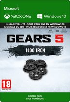 Gears 5: 1.000 Iron - In-Game Valuta - Xbox One / Windows Download