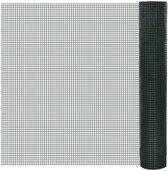 vidaXL - Tuingaas 140435 Gaas verzinkt 1 m x 10 m / maaswijdte: 19 x 19 mm