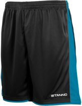 Stanno Milan Short Junior Sportbroek - Zwart - Maat 164