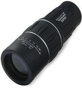 Professionele HD Monokijker 16x52 Dual Focus | Lens met 16x optische zoom | Monocular/Monoculair Mini Telescoop | Compacte Mono Verrekijker | 66M/8000M, zwart , merk BEACTIFF