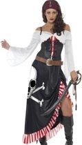 Sexy doodskop piraten kostuum voor vrouwen - Volwassenen kostuums