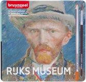 Hollandse Meesters blik 24 aquarelpotloden Zelfportret van Van Gogh