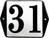 Emaille huisummer model oor - 31