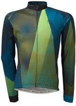 Agu Shirt Lange Mouw Evo Conquer Blauw/Groen M
