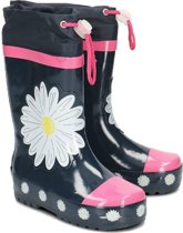 Palyshoes Rubber Boots Marguerite navy/pink 22/23