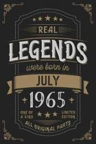 Real Legends were born in July 1965