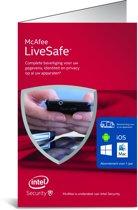 McAfee LiveSafe 2016 Standalone - Nederlands / Onbeperkt aantal Apparaten / 1 Jaar / Windows / Mac / Android / IOS