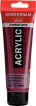 Amsterdam Standard acrylverf tube 120ml - Permanentrood violet - transparant
