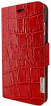 Piel Frama iPhone 7 Plus FramaSlimCards Croco Red