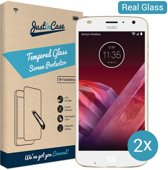 Just in Case Tempered Glass Motorola Moto Z2 Play - 2 pack