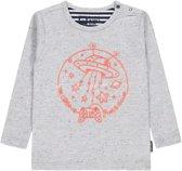 Tumble 'n dry Jongens T-shirt Siloy - Grey Melange - Maat 80