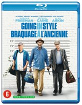 DVD cover van Going In Style (Blu-ray)