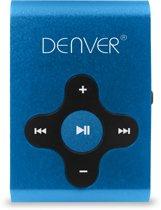 Denver MPS-409 - MP3-speler met sportclip - Blauw