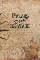 Palaos Diario De Viaje: 6x9 Diario de viaje I Libreta para listas de tareas I Regalo perfecto para tus vacaciones en Palaos