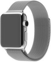 Apple watch bandjes Milanese zilver 38mm - 40mm Watchbands-shop.nl