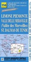 IGC Italien 1 : 25 000 Wanderkarte 114 Limone Piemonte