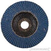 Zirkonium lamellenschijf 100 mm, 60 korrelgrofte